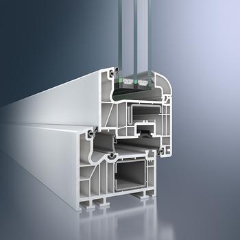 Profile aus PVC-Kunststoff